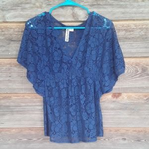 Ladies lacy top shirt